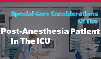 Post-Anesthesia Patient In The ICU